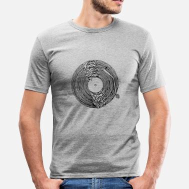 Turntable turntable dissous - T-shirt moulant Homme