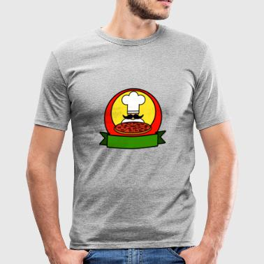 Pizzeria pizza pizzeria food restaurant38 - Men's Slim Fit T-Shirt