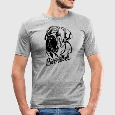 BOERBOEL PORTRET - slim fit T-shirt
