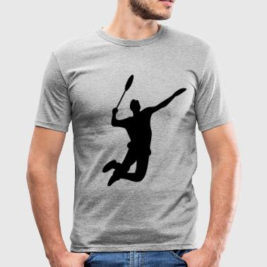 badminton - Men's Slim Fit T-Shirt