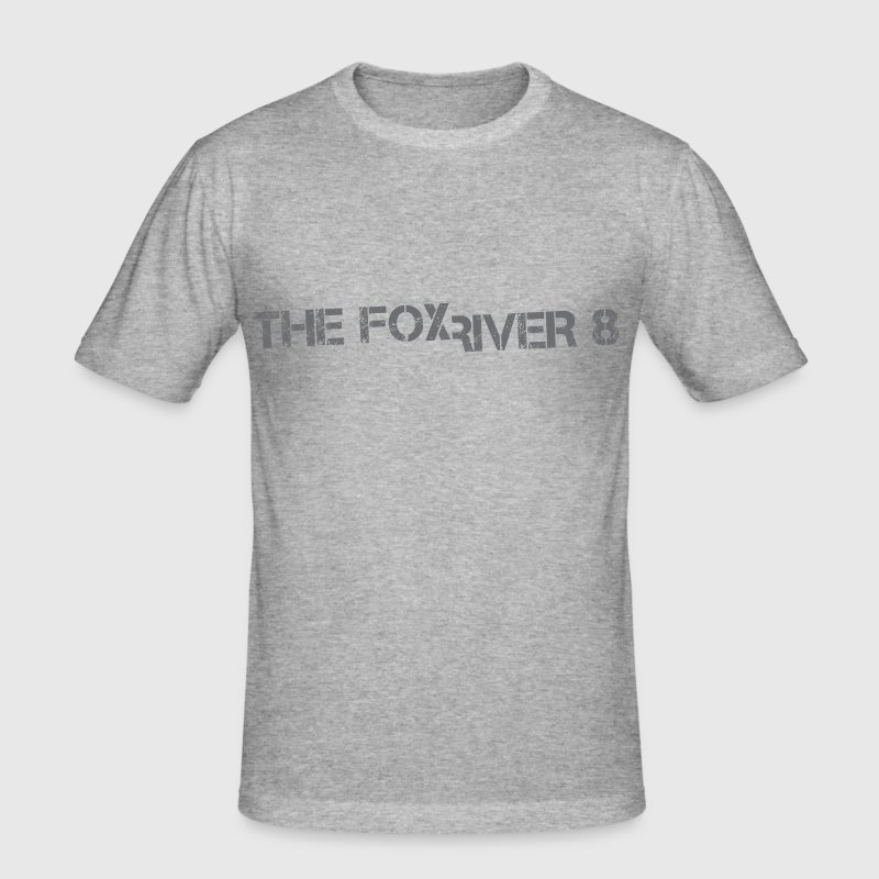 The Fox River 8 - Men's Slim Fit T-Shirt