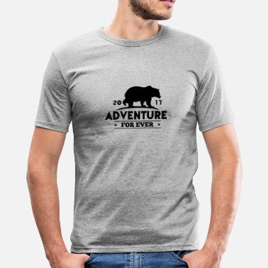 Sport ADVENTURE FOR EVER - GRIZZLY - slim fit T-shirt