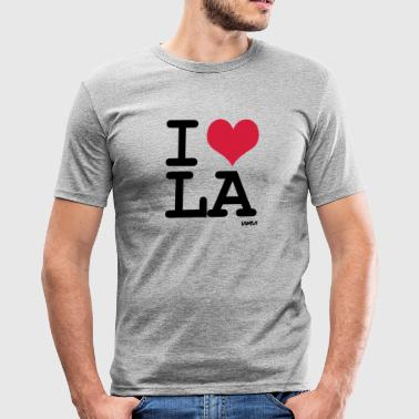 i love Los Angeles - LA by wam - slim fit T-shirt