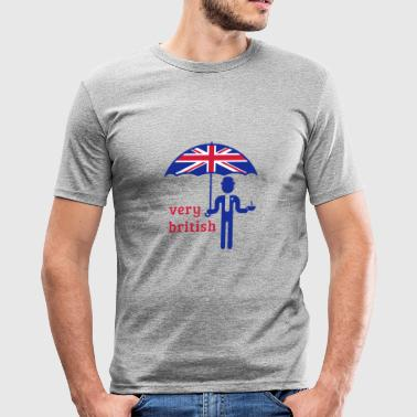 Very British (3C) - Men's Slim Fit T-Shirt