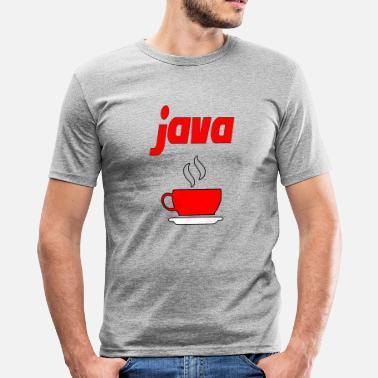 c96a61a76 Joe Cool java cup von joe - Männer Slim Fit T-Shirt