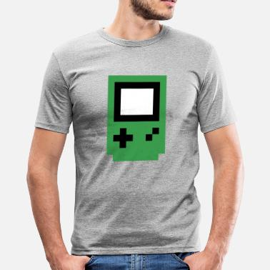 Console green console - Men's Slim Fit T-Shirt