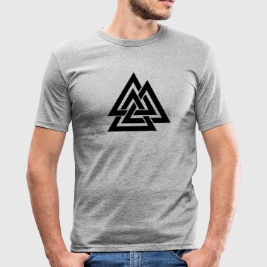 Valknut I Wotan's Knot I Walknut I Odin I - Men's Slim Fit T-Shirt