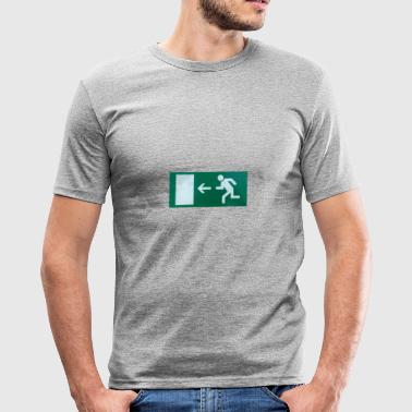Exit exit - Men's Slim Fit T-Shirt