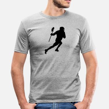 Lacrosse lacrosse - Men's Slim Fit T-Shirt