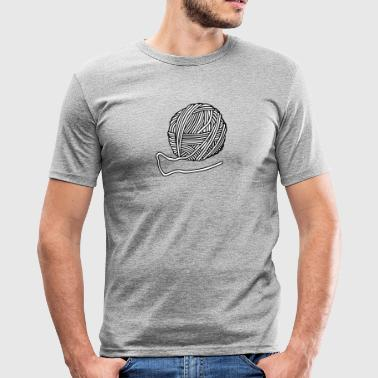 Wool - Men's Slim Fit T-Shirt