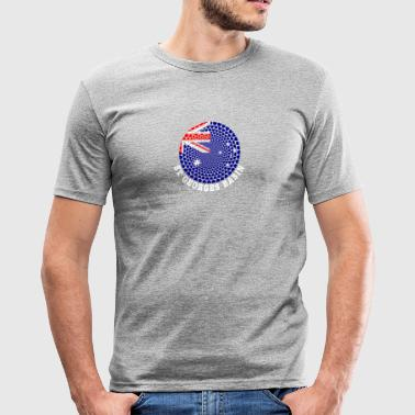 St Georges Basin - Men's Slim Fit T-Shirt