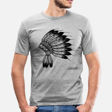 Indiana Indiana - Männer Slim Fit T-Shirt