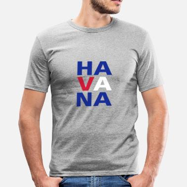 Havanna HAVANA - slim fit T-shirt