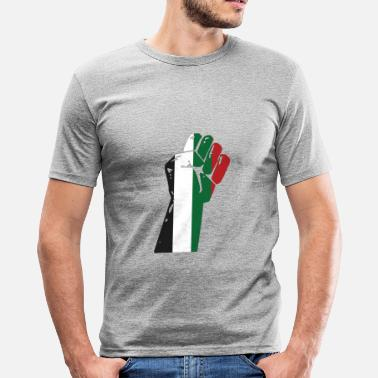 Palestino Palestine - Men's Slim Fit T-Shirt