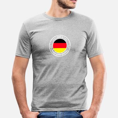Weide Weiden - slim fit T-shirt