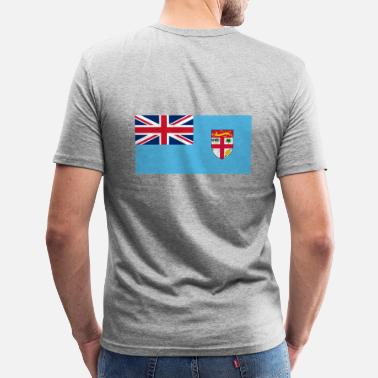 Polynesië Nationale vlag van Frans-Polynesië - slim fit T-shirt