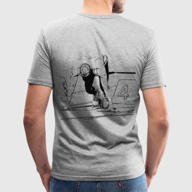 Sprinter - Männer Slim Fit T-Shirt