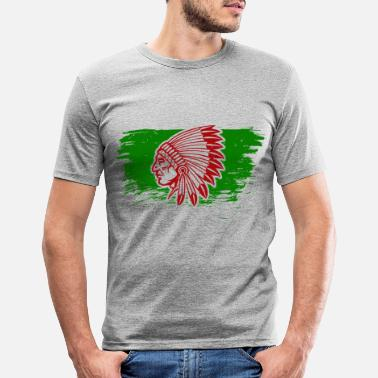 American Indian Native American Indians - Men's Slim Fit T-Shirt