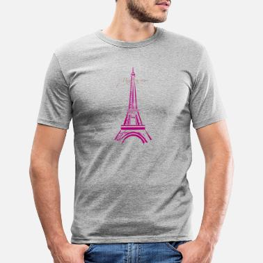 Date rendez-vous tour - Men's Slim Fit T-Shirt