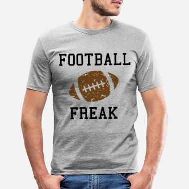 College Football Football americano Shirt Footballer Gifts - Maglietta slim fit uomo