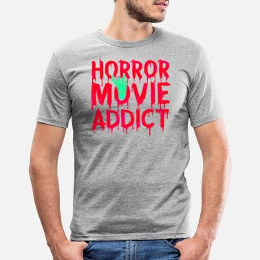 Scary Movie Horror movie horror movie scary zombie - Men's Slim Fit T-Shirt