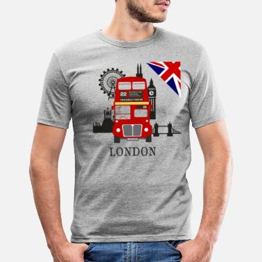 Angleterre Angleterre, Londres, visite touristique, - T-shirt moulant Homme