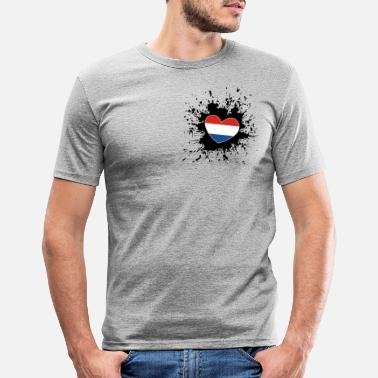 Netherlands Holland Netherlands Netherlands - Men's Slim Fit T-Shirt