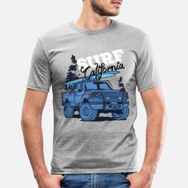 California surf california - Maglietta slim fit uomo