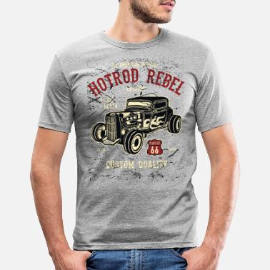Hot Hot Rod Rebel II - Maglietta slim fit uomo