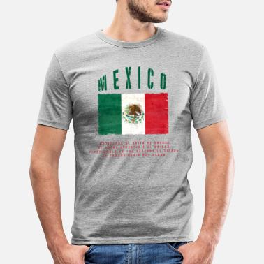 Bandera Mexican Flag Bandera Mexico - Men's Slim Fit T-Shirt