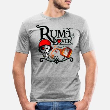 Rum lover - T-shirt moulant Homme
