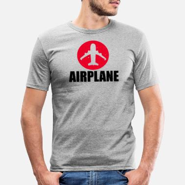 Airplane Airplane Airplane - Men's Slim Fit T-Shirt