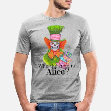 Alice Mad Eddy - Mannen slim fit T-shirt