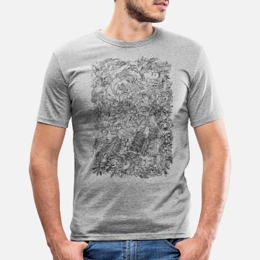 Fashion engines - Men's Slim Fit T-Shirt