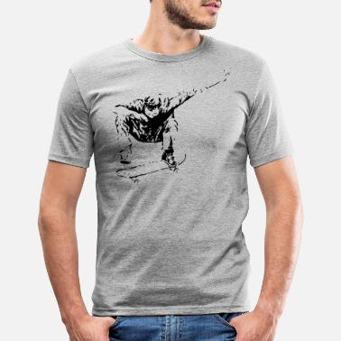 Boarder Boarder - Männer Slim Fit T-Shirt