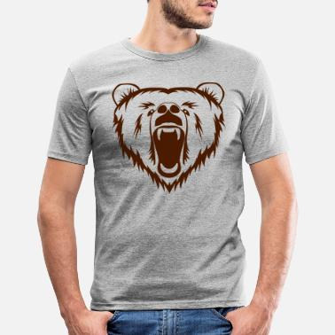 Grizzly grizzly - Männer Slim Fit T-Shirt