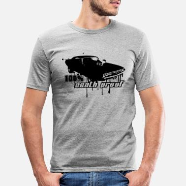 Death Proof – Todsicher 100% Death Proof - Männer Slim Fit T-Shirt