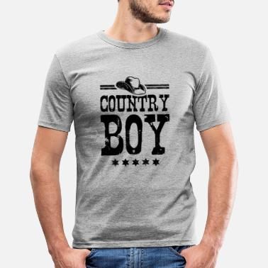 Country Country Boy - Slim fit T-shirt mænd
