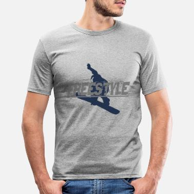 Freestyle Freestyle - Männer Slim Fit T-Shirt
