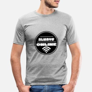 Internet Internet - Men's Slim Fit T-Shirt