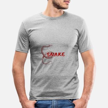Snake Snake - snake - Men's Slim Fit T-Shirt