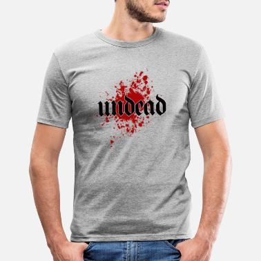 Undead Undead Undead - Men's Slim Fit T-Shirt