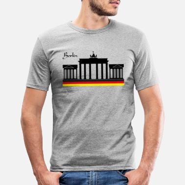 Tor Brandenburger Tor - Männer Slim Fit T-Shirt