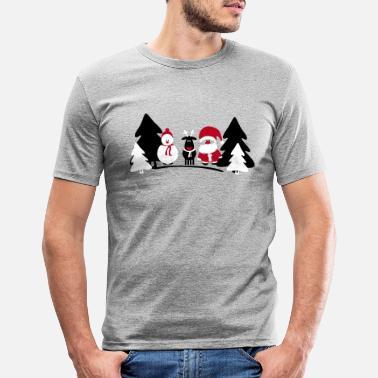 f72084ac christmas crew 2 - Men's Slim Fit T-Shirt. Men's ...