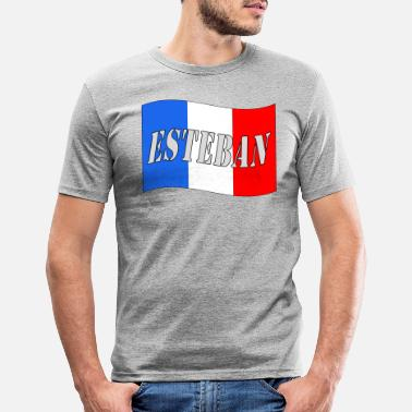 Esteban ESTEBAN - Männer Slim Fit T-Shirt