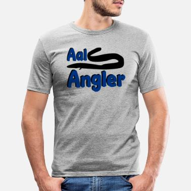 Aal Aal Angler - Männer Slim Fit T-Shirt