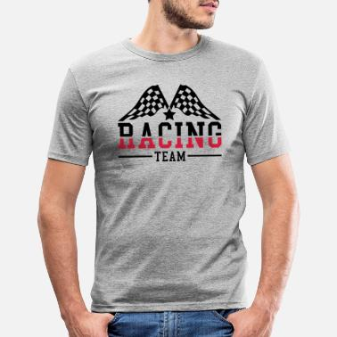 Motor Race racing_team_ri2 - Men's Slim Fit T-Shirt