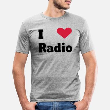 Radio Radio - Men's Slim Fit T-Shirt