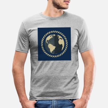World The world / The world - Men's Slim Fit T-Shirt