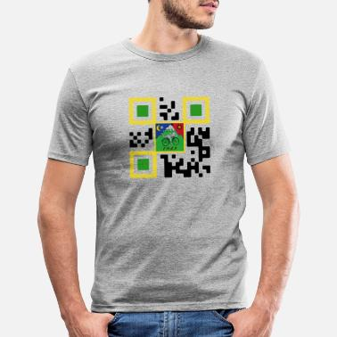 Qr QR LSD - Men's Slim Fit T-Shirt